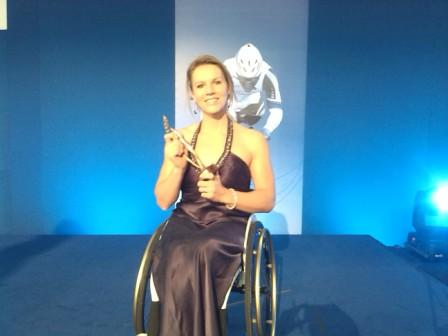 Esther Vergeer was awarded the best female athlete of the year award