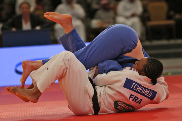 France's Audrey Tcheumeo enjoyed a dominant victory in the 78kg division ©IJF