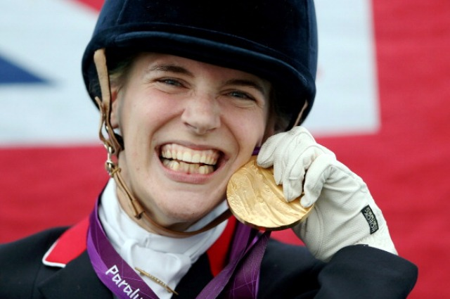 Four-time Paralympic champion Sophie Christiansen is one of nine athletes chosen to represent the views of British Paralympians