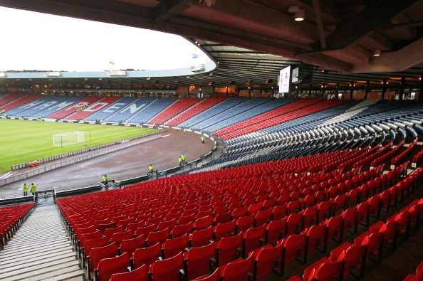 Glasgow 2014 and Police Scotland have announced the 19 firms invited to provide security and stewarding at Commonwealth Games venues such as Hampden Park ©AFP/Getty Images
