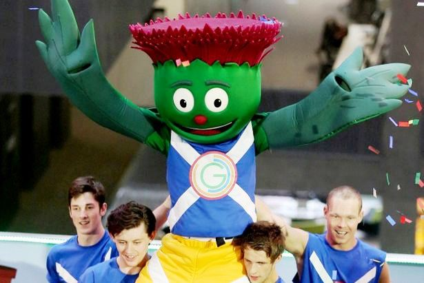 Glasgow 2014 mascot Clyde is sure to be making an appearance at the 'live zones' announced by Games organisers today