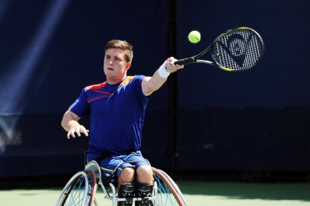 Gordon Reid has rounded off an impressive year with a doubles victory at the Masters in California earlier this month © Getty Images