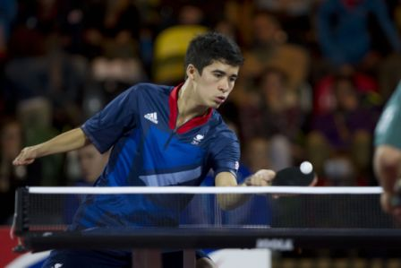 Great Britain claimed three gold medals and a silver on the second day of the inagural Para Table Tennis Belgian Open