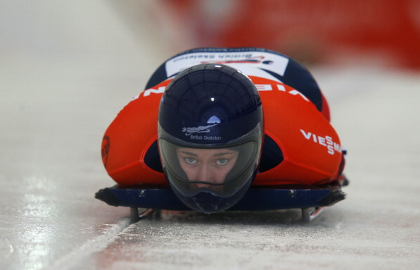 Great Britain's Lizzy Yarnold was awarded a controversial gold medal ©Getty Images
