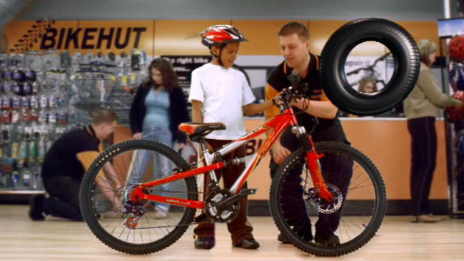 Halfords is reaping the benefits of the phenomenal raise in interest in cycling in Britain