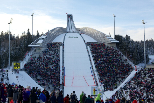 Oslo plans to hold as many events as close to the capital as possible, including the ski jumping at the legendary Holmenkollen @Getty