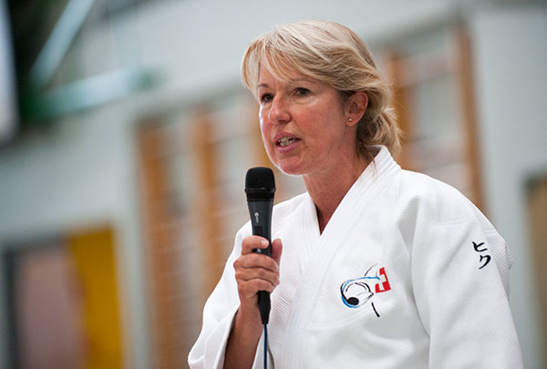 Swiss politician and keen judoka Jacqueline de Quatro is to sit on the Gender Equality and Development Commissions @IJF