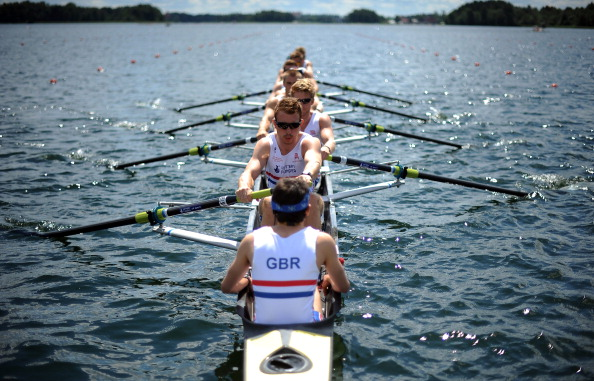 British rower James Cook is awarded the first ever Parmigiani Spirit Award