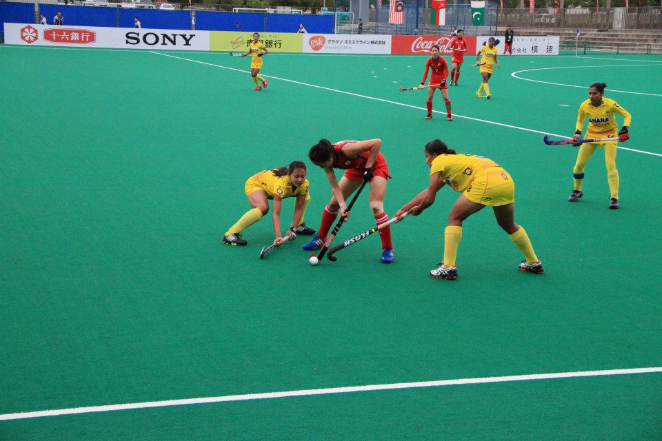 Japan's women have been crowned as the winners of the Asian Champions Trophy following their victory over India