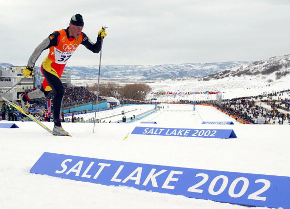 Spain's Johann Mühlegg was stripped of the three gold medals he won at  Salt Lake City 2002 after testing positive for banned drugs @Zoom Agence/Getty Images
