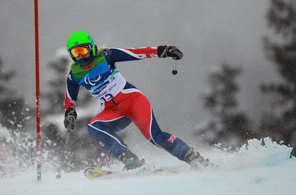 Kelly Gallagher won two World Championship medals in 2013 and is vowing to make up for her Vancouver near miss at Sochi 2014 ©Getty Images