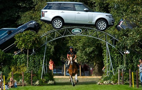 Land Rover will be an official sponsor of the 2014 World Equestrian Games