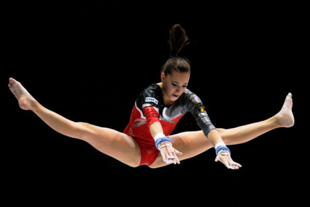 Larisa Iordache of Romania goes into the Stuttgart World Cup on the back of an impressive year of results ©Getty Images