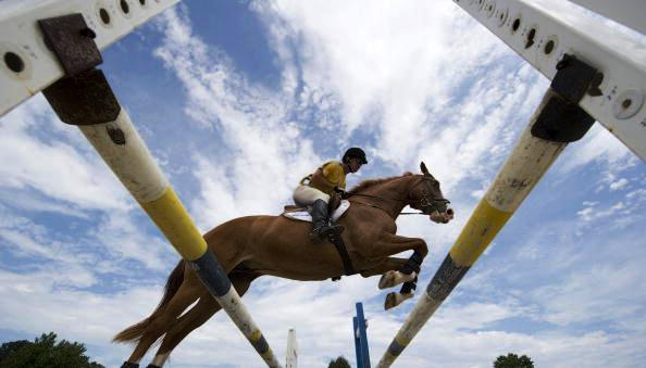 Lexington and Wellington have joined Bromont/Montreal as official bidders for the 2018 World Equestrian Games © DON EMMERT/AFP/Getty Images