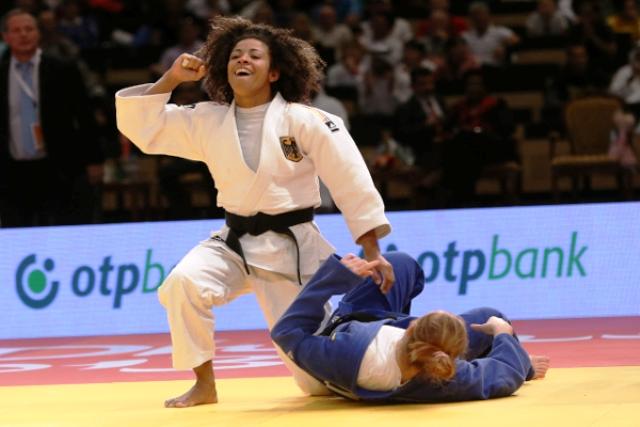 London 2012 silver medallist Miryam Roper secured yet another Grand Prix victory in Abu Dhabi © IJF