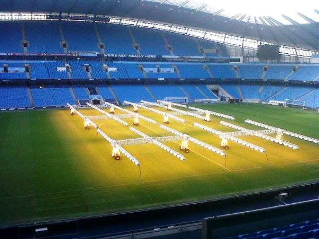 Manchester City's Etihad Stadium will host an England game during the 2015 Rugby World Cup © ITG