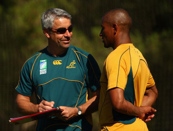 Martin Raftery and George Gregan have both worked to promote player welfare in rugby ©Getty Images