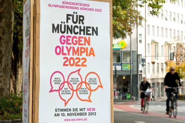 The anti-Munich 2022 lobby came out on top in the referendum to decide whether the Bavarian capital should bid for the 2022 Winter Olympics and Paralympics