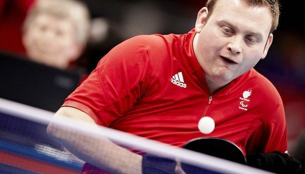 New world number one Rob Davies has been shortlisted for October's Athlete of the Month