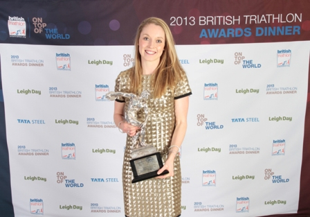 Non Stanford has been named Female Triathlete of the Year at a special awards ceremony in Birmingham ©British Triathlon