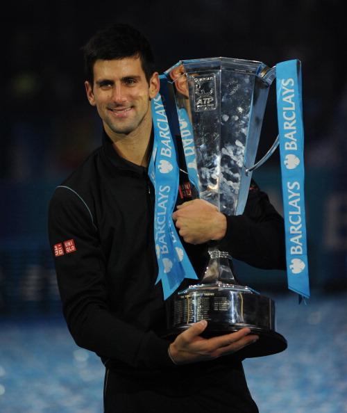 Novak Djokovic wins the ATP World Tour Finals title