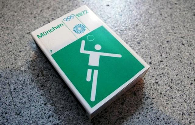 Oli Aicher's pictograms for the 1972 Munich Games are still considered a milestone in the development of pictogram design