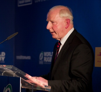 Patrick Hickey praised rugby but also offered some words of warning for the future ©Getty Images