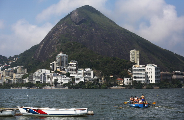 Rowing at Rio will be held in an iconic location, but will it be ready? ©Getty Images