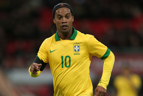 Ronaldinho hs been named as a team ambassador for Belo Horizonte ahead of the 2014 World Cup in Brazil