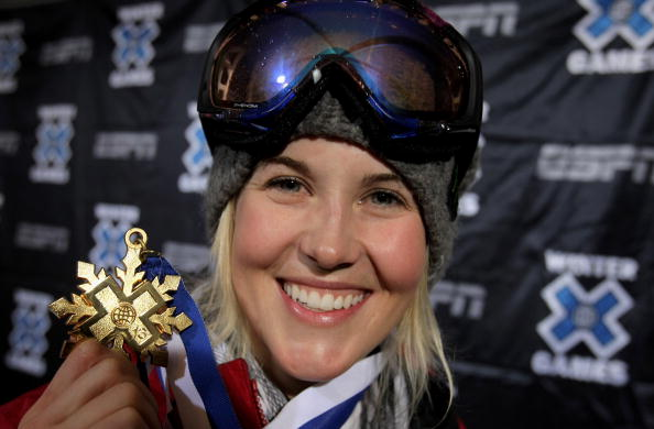 Sarah Burke was a key figure in the successful campaign to include ski halfpipe in the Winter Olympic programme