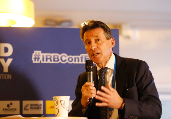 Sebastian Coe explained how England 2015 could learn from London 2012 ©Getty Images