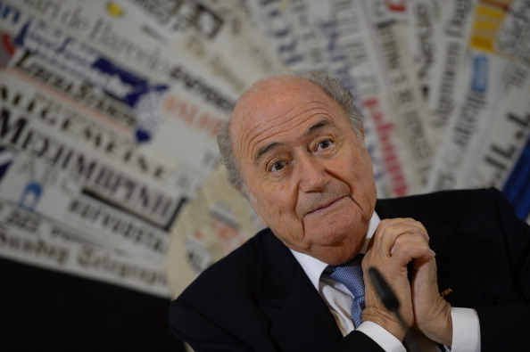 Sepp Blatter could make a u-turn over timing of matches for Brazil 2014 ©AFP / Getty Images
