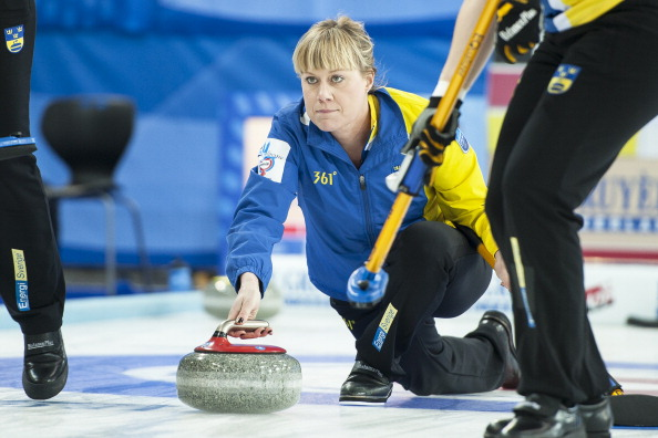Sweden's Maria Prytz was a key player in securing her country the European title ©AFP / Getty Images