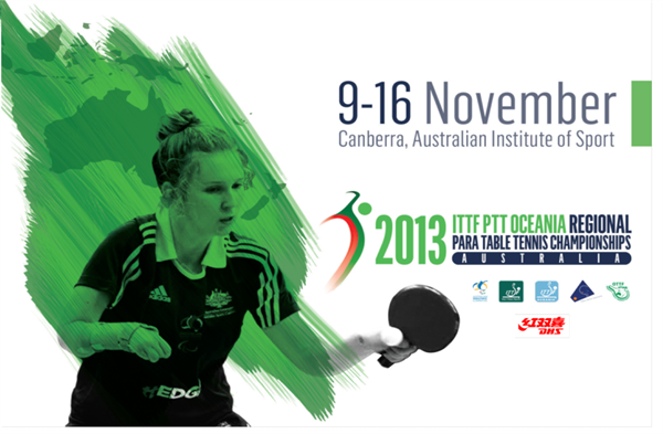 The 2013 ITTF Oceania Para-Table Tennis Championships gets underway on Wednesday the first World championship qualifier for Oceania