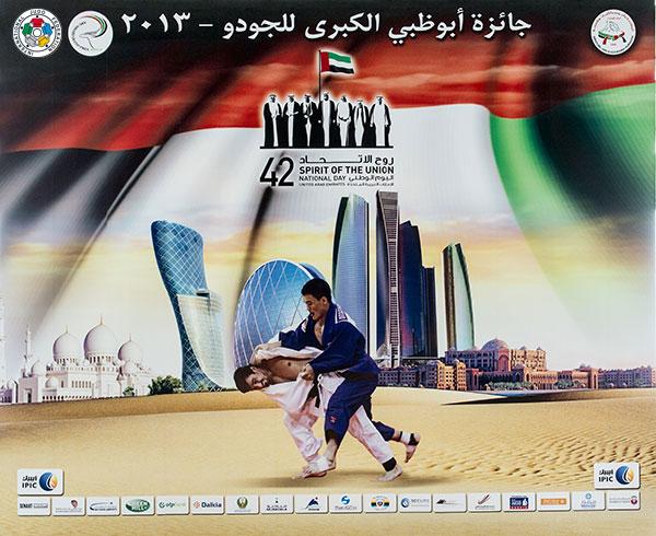 The Abu Dhabi Judo Grand Prix is set to get underway tomorrow ©IJF