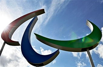 The Agitos will go on permnent display in the north of the Queen Elizabeth Olympic Park