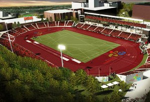 The CIBC Athletics Stadium at York University is one of three Toronto 2015 venues to receive legacy funding after the Games