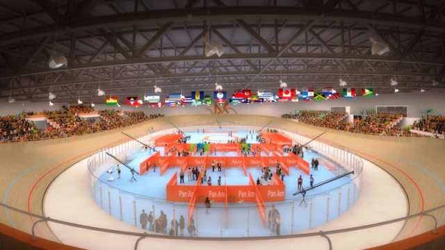 The Cisco Velodrome in Milton is set to become a top international track cycling venue