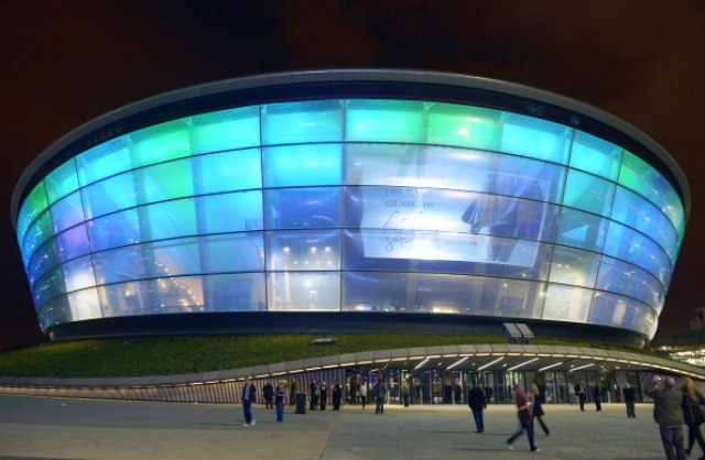 The Hydro Arena in Glasgow will host the 2015 FIG World Artistic Gymnastics Championships © Getty Images