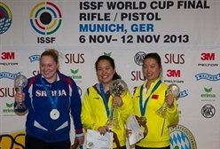 The ISSF Pistol and Rifle World Cup Finals got underway today in Munich