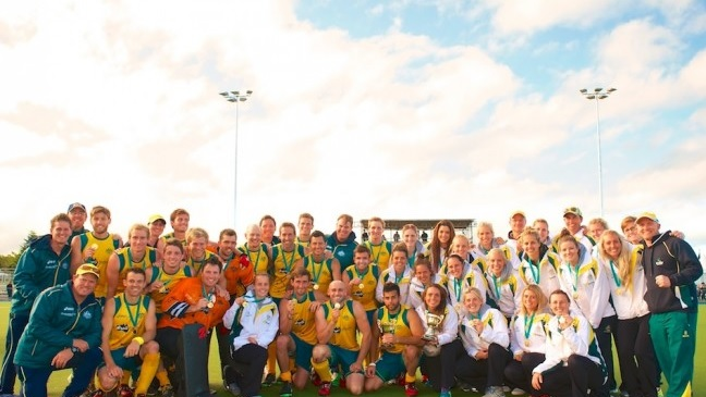 The Kookaburras and the Hockeyroos took both Oceania Cup titles