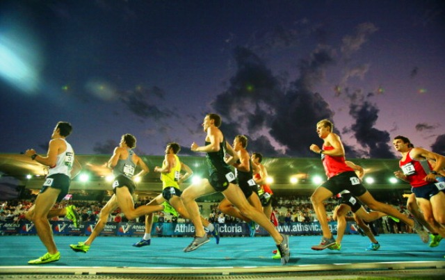 The Lakeside Stadium in Melbourne hosts an annual IAAF World Challenge Series event due to the work of out-going Athletics Australia President Rob Fildes © Getty Images