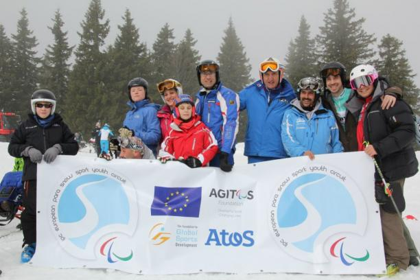 The Para snow sport circuit aims to introduce more youngsters to the sport as well as to improve those already involved © IPC