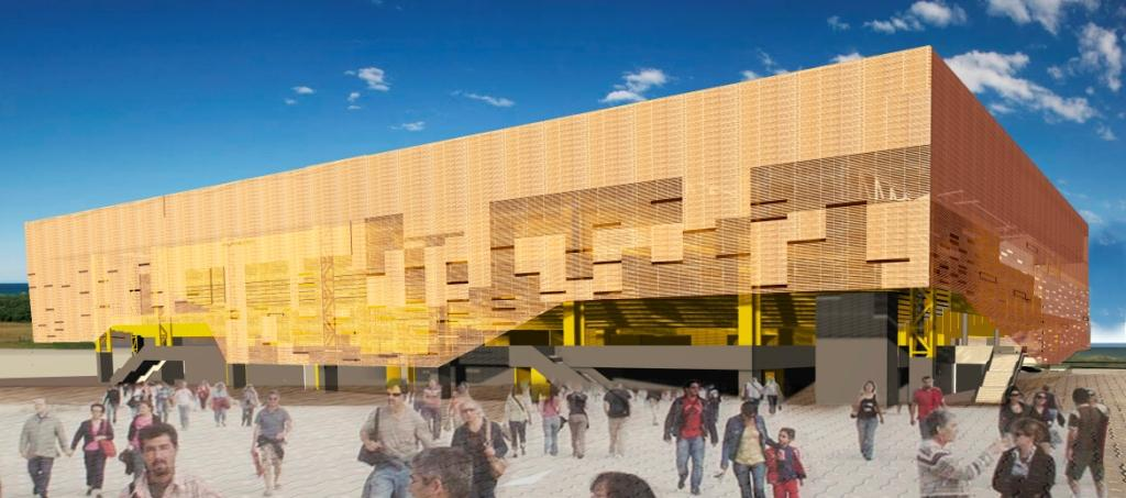 The Rio 2016 handball arena will be converted into four new schools following the Games ©Rio 2016