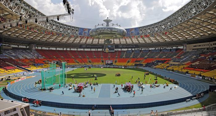 The World Championships received criticism for the lack of spectators in the stadium...particularly in the early stages of the event