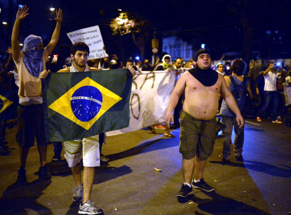 The cancellation of Soccerex brings about new security concerns following the violent protests seen at Junes Confederations Cup