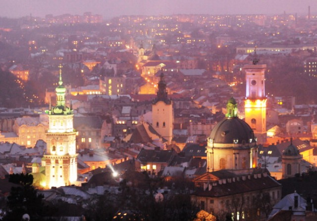 The city of Lviv in western Ukraine will bid to become host of the 2022 Winter Olympic and Paralympic Games © AFP / Getty Images