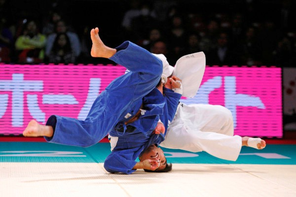 The first day of action in Tokyo saw hosts Japan dominate proceedings and claim all five gold medals © IJF Media by G. Sabau