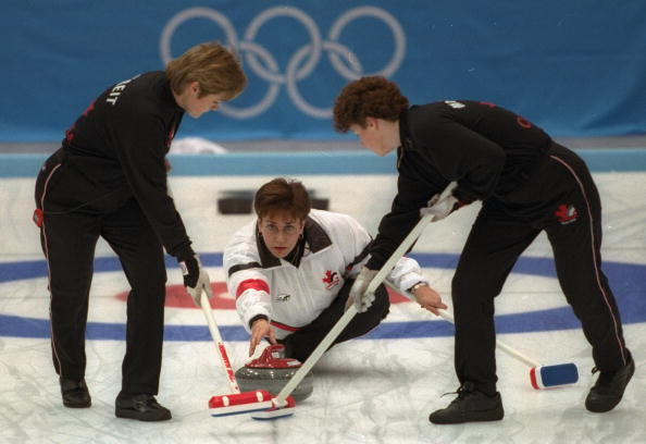 The late Sandra Schmirler is being celebrated with a special Canada Post stamp for Sochi 2014