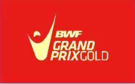 The new logo for the BWF Grand Prix Gold series © BWF